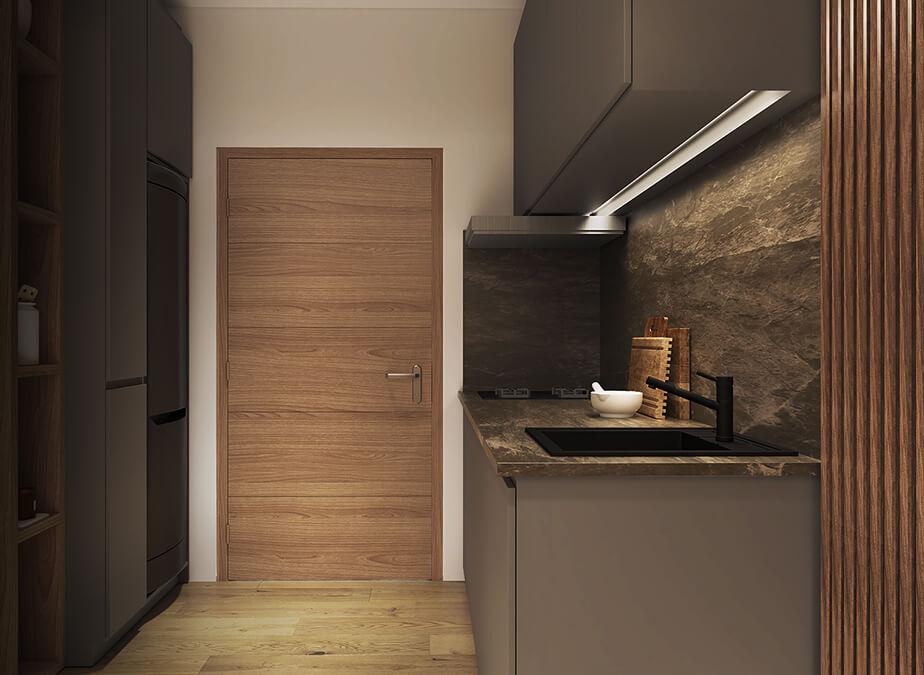 2BR - Kitchen - Gold Residences