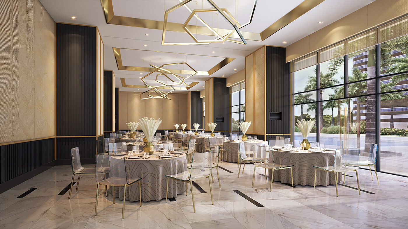 Function Hall - Gold Residences