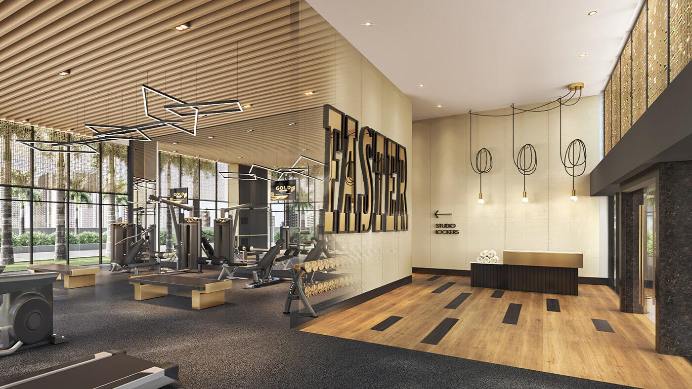 Gym - Gold Residences