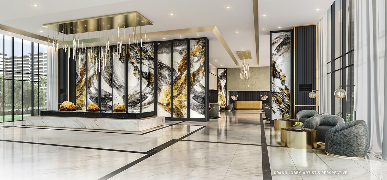 Lobby 1 - Gold Residences
