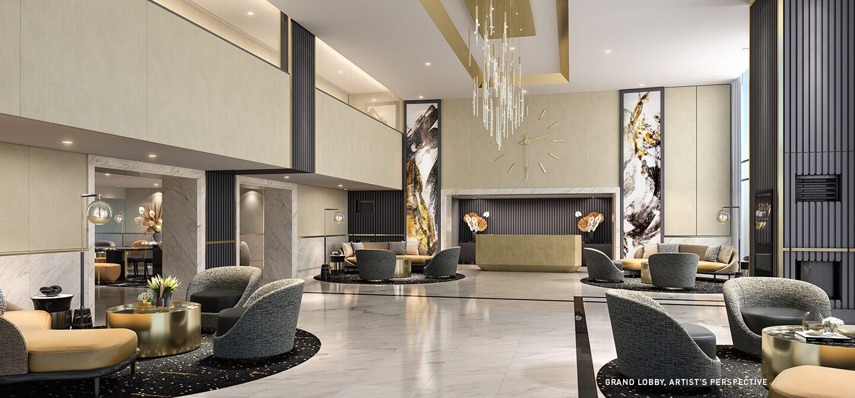 Lobby 3 - Gold Residences