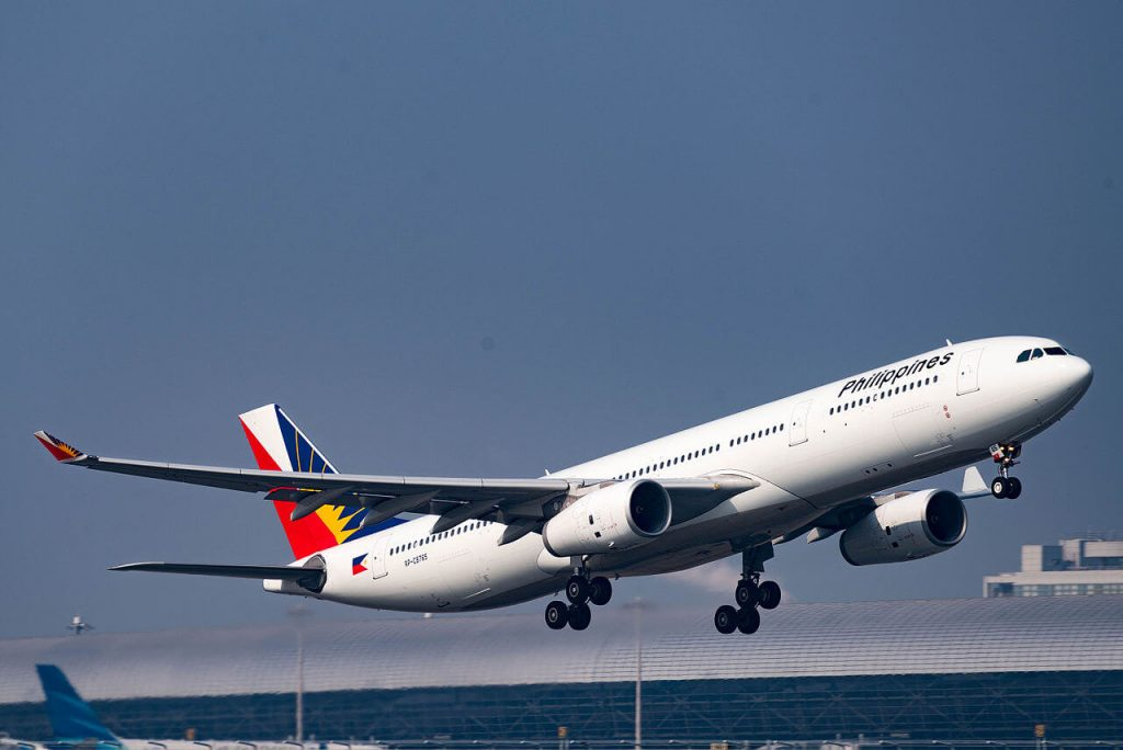 Philippine Airlines Airplane