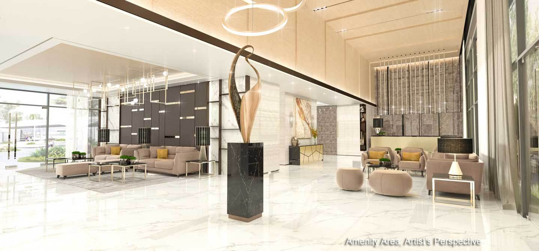 Lobby 2 - Gold Residences