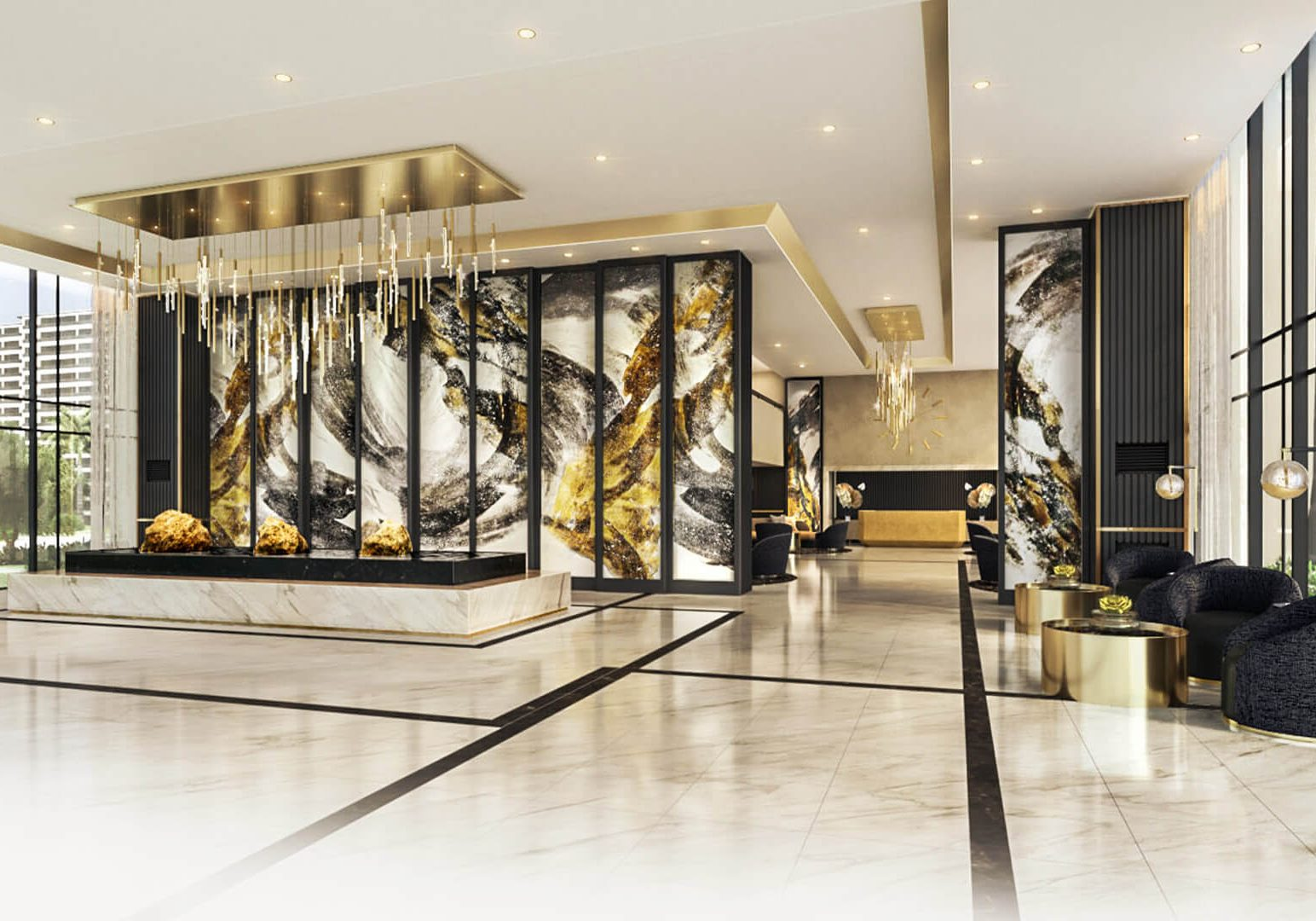 Gold Residences Lobby